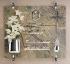 Immagine di Croce in acciaio per lapidi e cappelle - Sezione tubolare