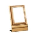 Image de Cadre photo rectangulaire - Montage au sol - Ligne Olpe - Bronze