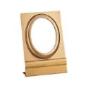 Image de Cadre photo ovale - Montage au sol - Ligne Olpe - Bronze