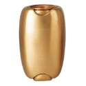 Picture of Flower vase for gravestone - Olpe Line - Bronze