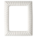 Picture of Rectangular photo frame - Empire line - White - Porcelain