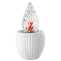 Picture of Votive lamp for gravestones - White Empire Line - Porcelain