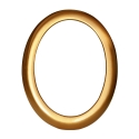 Cornice ovale bronzo P.02.0518