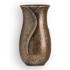 Immagine di Vaso portafiori per lapide - Linea Apulo - Bronzo Glitter
